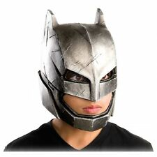 Armored Batman Mask Kids Batman v Superman Costume Halloween Vinyl  RUBIES
