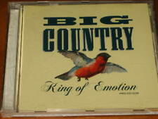 BIG COUNTRY - King Of Emotion - 1 Track U.S. PROMO DJ CD! RARE! peter wolf