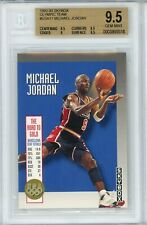 1992-93 SkyBox Olympic Michael Jordan BGS 9.5 Gem Mint #USA111