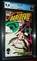 DAREDEVIL #228 1986 Marvel Comics CGC 9.4 NM White Pages