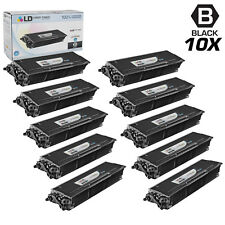 LD © Compatible Brother TN580 Set of 10 HY Black Toner
