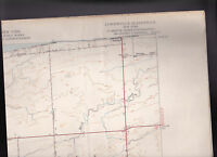 Lyndonville Quadrangle Orleans County New York US Geological Survey Map 1951