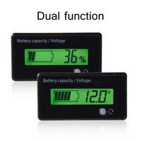 Voltmètre Capacité Testeur Indicateur De Batterie DC 6-70V Compteur LiPo LCD