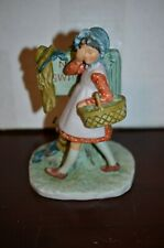 """Norman Rockwell Vintage '70's """"No Swimming"""" Ceramic Figurine, by Gorham"""