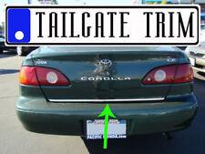 ToCOROLLA 1998 1999 2000 2001 2002 Chrome Tailgate Trunk Trim Molding
