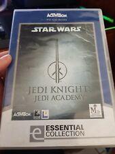 Star Wars Jedi Knight - Jedi Academy -  PC GAME - FREE POST *