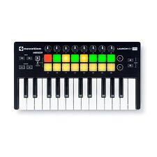 Novation Launchkey Mini MK2 Ableton Cubase Logic MIDI 25-Key Keyboard Controller