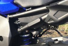 BRUUDT Fußrastenabdeckung für Yamaha MT10 MT-10 MT 10 Footrest Blanking Plate