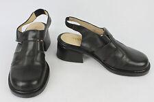 Chaussures Sandales SAN MARINA Paris Cuir Noir T 36 TTBE