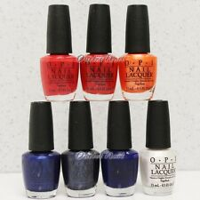 OPI Nail Lacquer MLB FASHION PLATE - SET OF 7 All Colors Shade Collection 2014