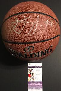 Udoka Azubuike JSA COA RARE SIGNED NBA SPALDING REPLICA BASKETBALL AUTOGRAPHED