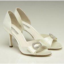 Benjamin Adams High (3-4.5 in.) Peep Toes Bridal Shoes