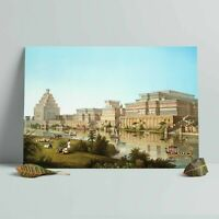 Monuments of Nineveh Poster - Babylonian/Sumerian/Assyrian/Anunnaki/Mesopotamia
