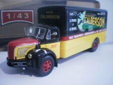 Camions miniatures multicolore pour Berliet