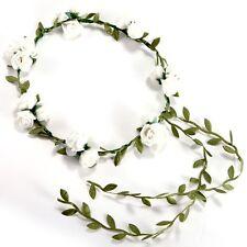3 Flower / banquet! Headband Hair Accessories Wedding Floral head garland w V1T1
