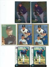 Roy Halladay lot of 6 1st year or RCs with a bonus