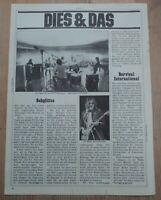EAGLES  -  Clipping/Bericht aus dem Jahr 1976 - Musikzeitschrift