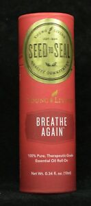 Young Living BREATHE AGAIN  10 Ml Roll on  New Sealed