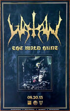 Watain The Wild Hunt 2013 Ltd Ed Rare New Poster +Free Black Metal/Rock Poster!