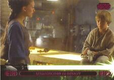 "Star Wars Jedi Legacy - Magenta Parallel Card 10A ""Meets Queen Amidala"""
