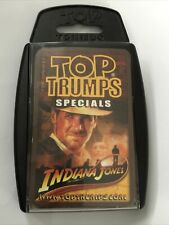 Top Trumps - Indiana Jones Specials - Card Game - 30 Playing Cards