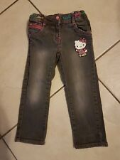Jeans Hose Hello Kitty Gr. 98 neuwertig
