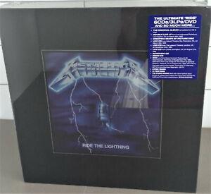METALLICA -RIDE THE LIGHTNING DELUXE BOX SET