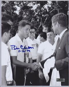 President Bill Clinton AUTOGRAPH 8x10 Photo w/ *COA* HAND SIGNED