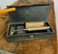 Vintage Enders Dollar Razor Safety Razor In Original Case w/ Blade