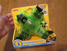 Imaginext JUSTICE LEAGUE GREEN LANTERN JET DC comics FISHER PRICE brand new RARE