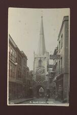 Glos Gloucestershire BRISTOL St John's Church Mercury Office Used 1905 RP PPC