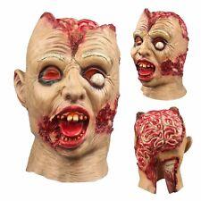Halloween Mask Pinhead Ghost Scary Latex Helmet Horror Cosplay Mischief Good