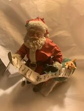 1994 possible dreams clothtiques santa a christmas guest With music box