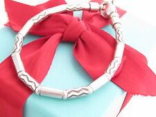 "Tiffany & Co Silver 925 Carved Bead Aztec Bracelet 7.6"""