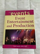 Wiley Publishing Events- Event Entertainment and Production by Mark Sonder 2004