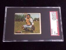 YOGI BERRA 1950 BOWMAN TOPPS Autographed Signed Baseball Card SGC 46 YANKEES