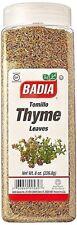 Badia Whole Thyme Leaves Tomillo Entero  8 Oz  Free Shipping
