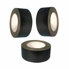 BUY 3 GET 1 FREE BLACK GAFFA GAFFER DUCT TAPE 50mm x 25m ADHESIVE WATERPROOF