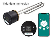 More details for tesla t-smart hot water cylinder thermostat +14 inch titanium immersion heater t