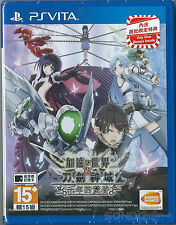 Accel World Vs. Sword Art Online:Millennium Twilight Chinese subtitle PSVita NEW
