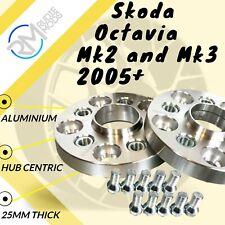Abe H /& r ensanchamiento Dr 24 = 2x12mm para Skoda Octavia 5e spacer con pernos