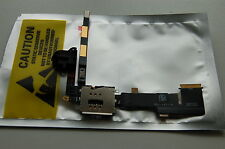 Headphone Audio Jack Flex Cable+SIM Card Holder Reader for iPad 2 3G Version