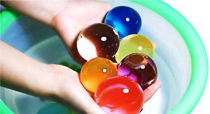 50 Jumbo Orbeez Water Expanding Large Magic Balls Jelly Plant Beads Soil Aqua UK