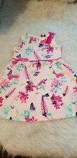 girls 18-24 months ted baker party floral dress summer designer clothes next day