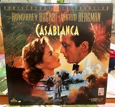 Casablanca Laser Disc - Bogart - Bergman