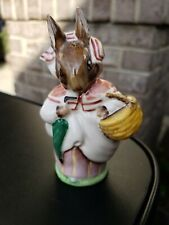Vintage Beatrix Potter Figurine Mrs Rabbit Beswick England