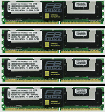 16GB (4GB X4) MEMORY FOR  Hewlett-Packard Proliant ML370 G5