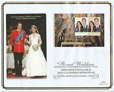 More details for australia 29 april 2011 royal wedding m/sheet o/s vle first day cover