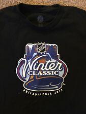 NHL Black Broad St.Bullies Sz XL Winter Classic Philadelphia Tshirt