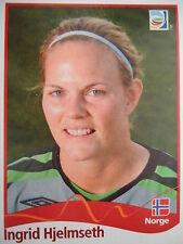 PANINI 294 Ingrid hjelmseth Norvegia FIFA Women's World Cup 2011 GERMANY